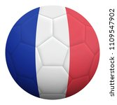 realistic isolated 3d soccer... | Shutterstock .eps vector #1109547902