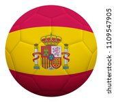 realistic isolated 3d soccer... | Shutterstock .eps vector #1109547905
