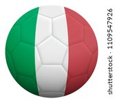 realistic isolated 3d soccer... | Shutterstock .eps vector #1109547926