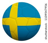realistic isolated 3d soccer... | Shutterstock .eps vector #1109547956