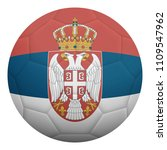 realistic isolated 3d soccer...   Shutterstock .eps vector #1109547962