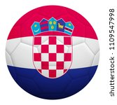 realistic isolated 3d soccer... | Shutterstock .eps vector #1109547998