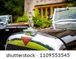 Alvis Car Silver Hood Ornament...