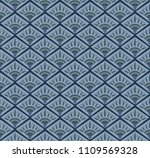 seamless art deco inspired...   Shutterstock .eps vector #1109569328