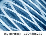 collage photo of grid structure ... | Shutterstock . vector #1109586272
