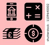 business icons set of web ...   Shutterstock .eps vector #1109640002