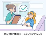 medical service concept... | Shutterstock .eps vector #1109644208