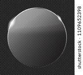 transparent luster crystal... | Shutterstock .eps vector #1109652398