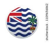 button flag map of british... | Shutterstock .eps vector #1109656862