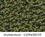 camouflage seamless background. ... | Shutterstock .eps vector #1109658155