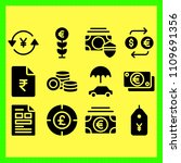 business icons set of... | Shutterstock .eps vector #1109691356