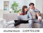 injured family of wife and...   Shutterstock . vector #1109701238