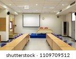 interior conference room ...   Shutterstock . vector #1109709512