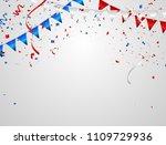 celebration background template ... | Shutterstock .eps vector #1109729936