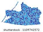 kaliningrad region map mosaic...   Shutterstock .eps vector #1109742572