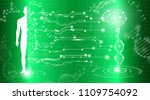 abstract background technology... | Shutterstock .eps vector #1109754092