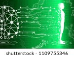 abstract background technology... | Shutterstock .eps vector #1109755346