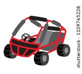 beach buggy transportation...   Shutterstock .eps vector #1109765228