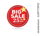 sale and special offer tag ...   Shutterstock .eps vector #1109773952
