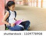 asian children holding book in...   Shutterstock . vector #1109778908