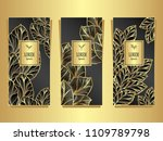 set template for package or... | Shutterstock .eps vector #1109789798