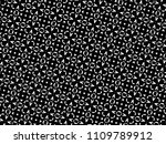 ornament with elements of black ... | Shutterstock . vector #1109789912