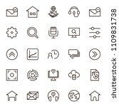 social media icon set....