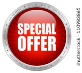 vector special offer icon ... | Shutterstock .eps vector #110983865