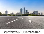 panoramic skyline and buildings ... | Shutterstock . vector #1109850866