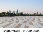 panoramic skyline and buildings ... | Shutterstock . vector #1109852036