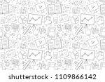 training background from line... | Shutterstock .eps vector #1109866142