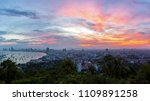the building and skyscrapers in ... | Shutterstock . vector #1109891258