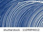 grunge texture. distress indigo ... | Shutterstock .eps vector #1109894012