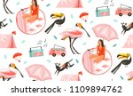 hand drawn vector abstract... | Shutterstock .eps vector #1109894762