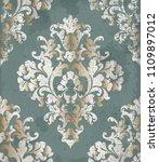 vintage baroque style... | Shutterstock .eps vector #1109897012