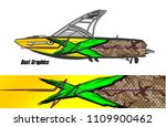 boat decal graphic vector for...   Shutterstock .eps vector #1109900462