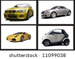 collage of motor cars ... | Shutterstock . vector #11099038