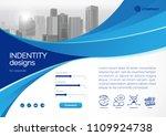 template vector design for... | Shutterstock .eps vector #1109924738