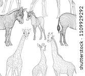 seamless pattern  background ... | Shutterstock .eps vector #1109929292