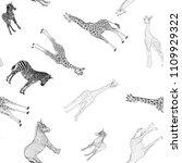 seamless pattern  background ... | Shutterstock .eps vector #1109929322