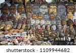 buddhism souvenirs shop in... | Shutterstock . vector #1109944682