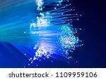 optical fiber network cable.... | Shutterstock . vector #1109959106