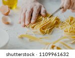 closeup of process of making... | Shutterstock . vector #1109961632