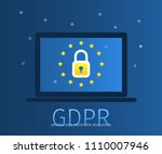 concept of general data... | Shutterstock .eps vector #1110007946