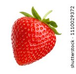 Red Berry Strawberry Isolated...