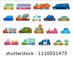 toy colorful different service... | Shutterstock .eps vector #1110031475