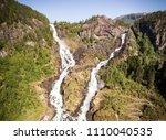 photo of latefossen   rapid... | Shutterstock . vector #1110040535