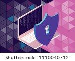 gdpr general rules for data... | Shutterstock .eps vector #1110040712