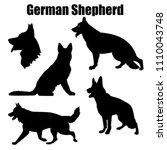 vector illustration of german... | Shutterstock .eps vector #1110043748