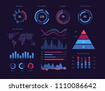 intelligent technology hud... | Shutterstock .eps vector #1110086642